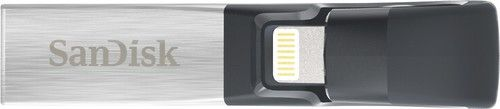 SanDisk - iXpand 64GB USB 3.0/Lightning Flash Drive
