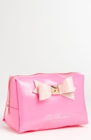 Ted Baker London Large Bow Cosmetics Bag ($55 @ nordstrom.com). #summer