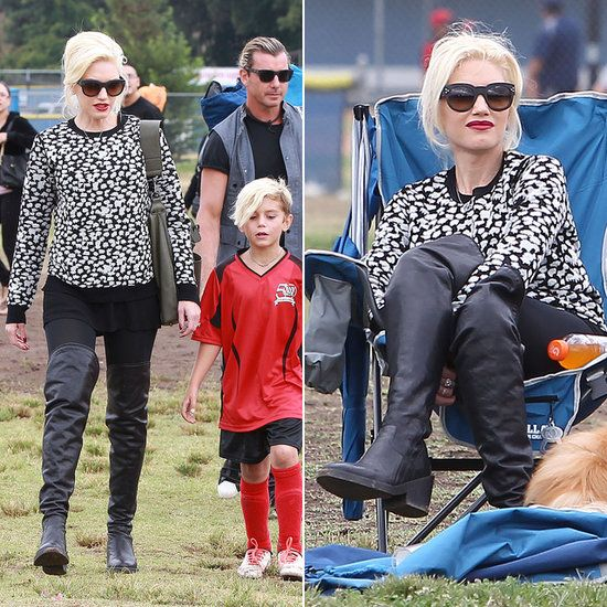 Gwen Stefani: World's Most Stylish Soccer Mom? We think so!