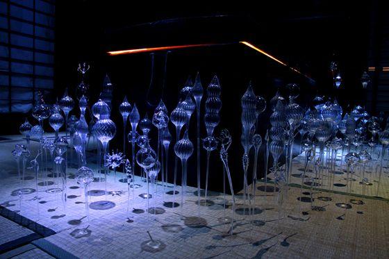 Otherworldly Glass Sculptures - My Modern Metropolis  by Mika Aoki