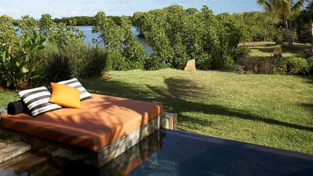 Our Mangrove Pool Villas in Mauritius offer private garden views as well as panoramic views of mangrove trees.