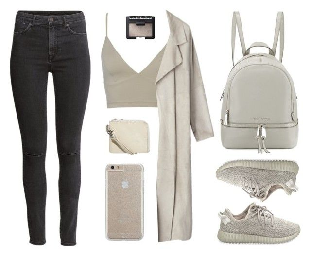 """""""Yeezy"""" by baludna ❤ liked on Polyvore featuring adidas Originals, MICHAEL Michael Kors, H&M, Cheap Monday, Case-Mate and NARS Cosmetics"""