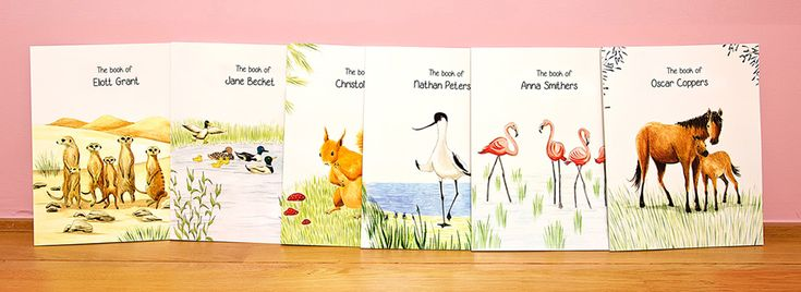 My ZebraBook, Personalized Children's Books