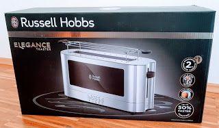 Russell Hobbs Elegance Langschlitz-Toaster - Edles Design peppt unsere Küche auf ;-)  ~Anzeige~  #RussellHobbsElegance  #russellhobbs #konsumgöttinnen #langschlitztoaster #toaster #toast #frühstück #food #testen #frühstück #zeitersparnis #lecker #goldentoast
