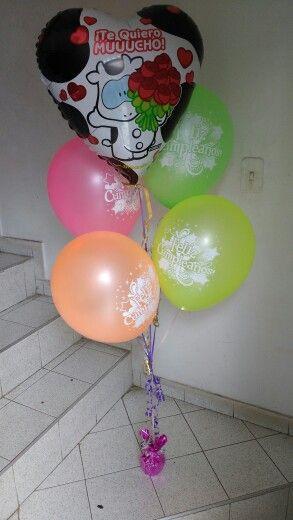 Ramo de globos neon 4 globos helio+1 globo metalizado+ base  $22.000 Contactenos 3727281-3153170602 Cali- Colombia