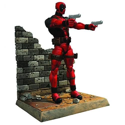 Marvel Select Deadpool Action Figure - Diamond Select - Deadpool - Action Figures at Entertainment Earth