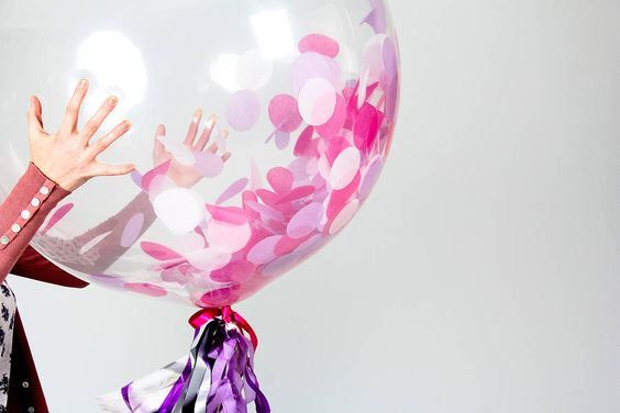 Crystal clear balloon, 24 inch balloon, bachelorette balloon, bride balloon, baby shower, birthday balloon,engagement balloon, grad balloons by Prettygoodsatx on Etsy https://www.etsy.com/listing/263917628/crystal-clear-balloon-24-inch-balloon