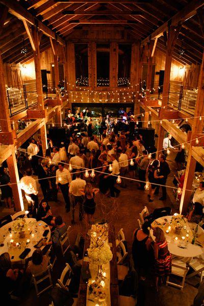 barn party at the Grange at Green Door Gourmet in Nashville | Kristyn Hogan #wedding
