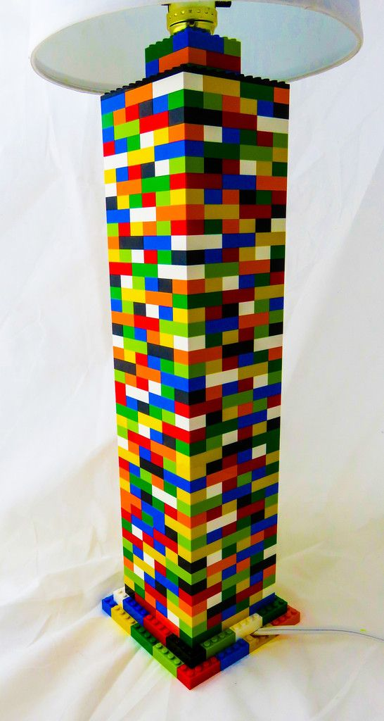 This is another item that was originally made for a custom order commission but you can own yourself! Colorful LEGO® conversation starter on a desk, or fun addition to a child's room! Red, blue, yello