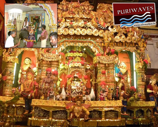 Jhulan Jatra At Puri, Jaganath Ballav Matha at Puri which is known as playing garden of Lord Jagannath.