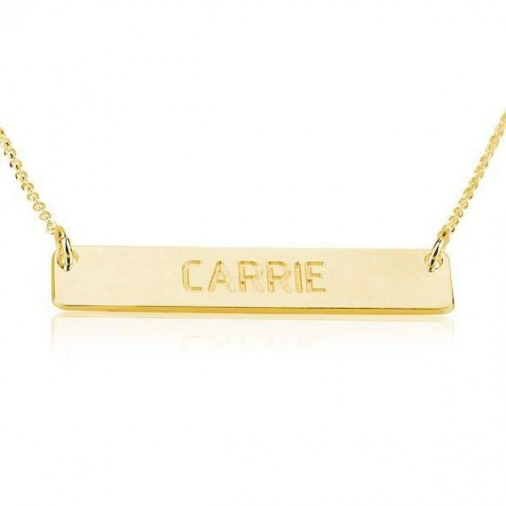 Square Name Necklace
