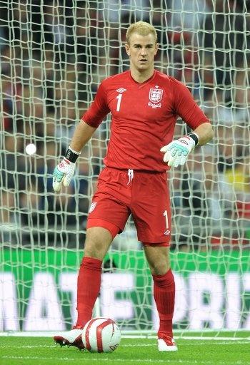 Joe Hart, England