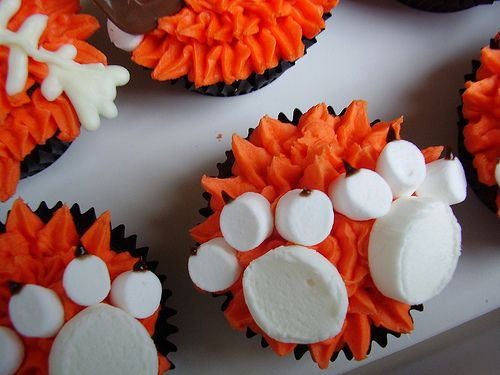 Paw Prints- For Sister's Grad Party Cupcakes (Red & Black)