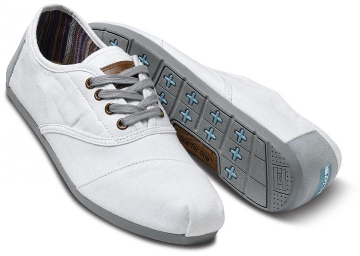 White Alden Men's Cordones