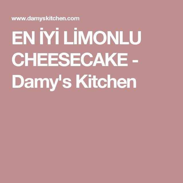 EN İYİ LİMONLU CHEESECAKE - Damy's Kitchen