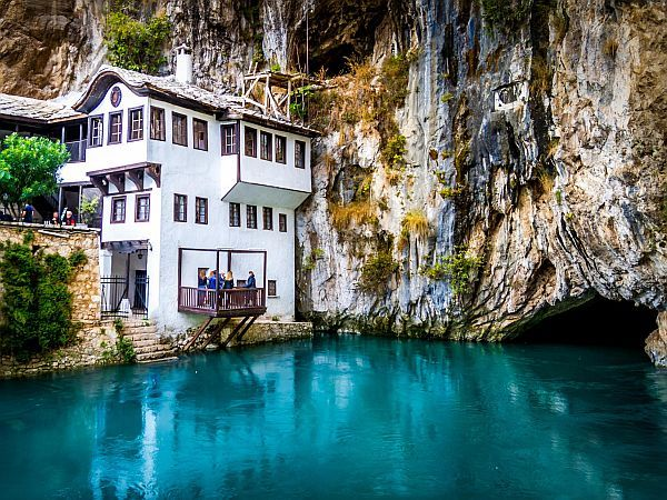 bosnia hercegowina blagaj klasztor derwiszy