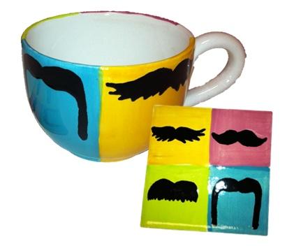 Moustache Mania!  www.crockadoodle.com