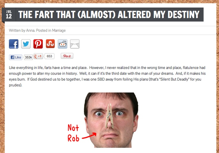 That the destiny my fart altered