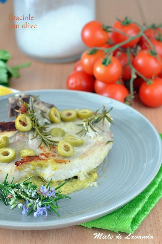 Braciole di maiale con olive