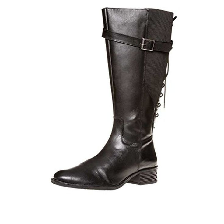 sheego Bottes mollet large cuir véritable, Femme #Chaussuresbateau #chaussures http://allurechaussure.com/sheego-bottes-mollet-large-cuir-veritable-femme/