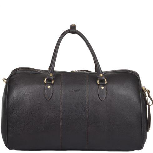 Ashwood Leather Weekend Holdall Brown/Tum : Charles