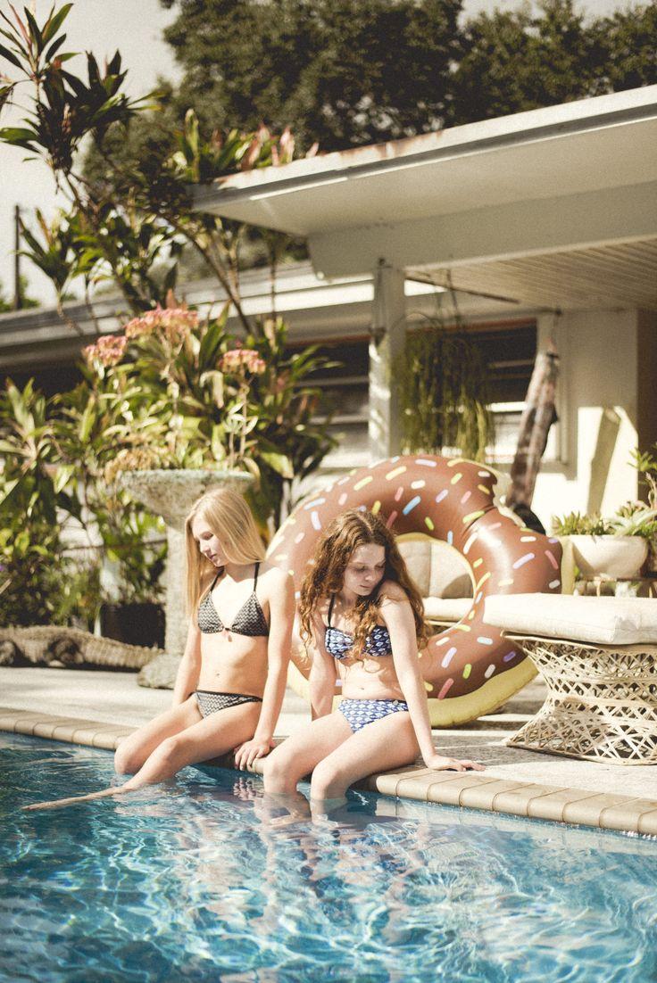 Look fille maillots de bain WAY by IKKS, look Girl Printemps-Eté 2017 #girlsfashion #SS17