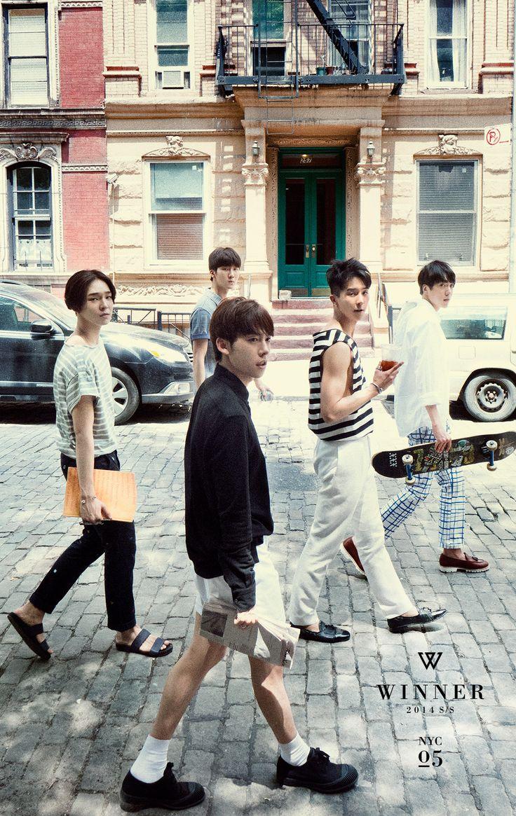 "WINNER Releases Last Set of Photos from ""New York Week""   Soompi"