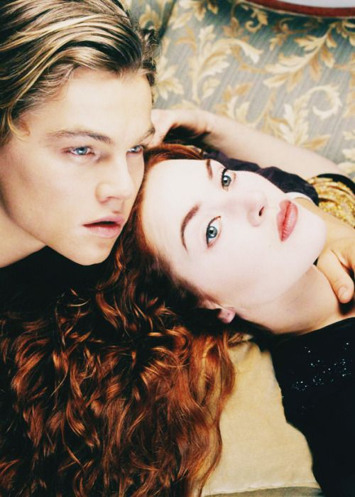 "hollywoodlady: ""Leonardo DiCaprio and Kate Winslet in Titanic, 1997 """