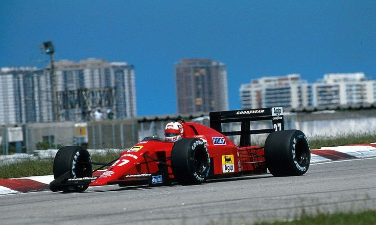 Ferrari Friday … low riderNigel Mansell, Ferrari 640, 1989 Brasilian Grand Prix, Jacarepagua