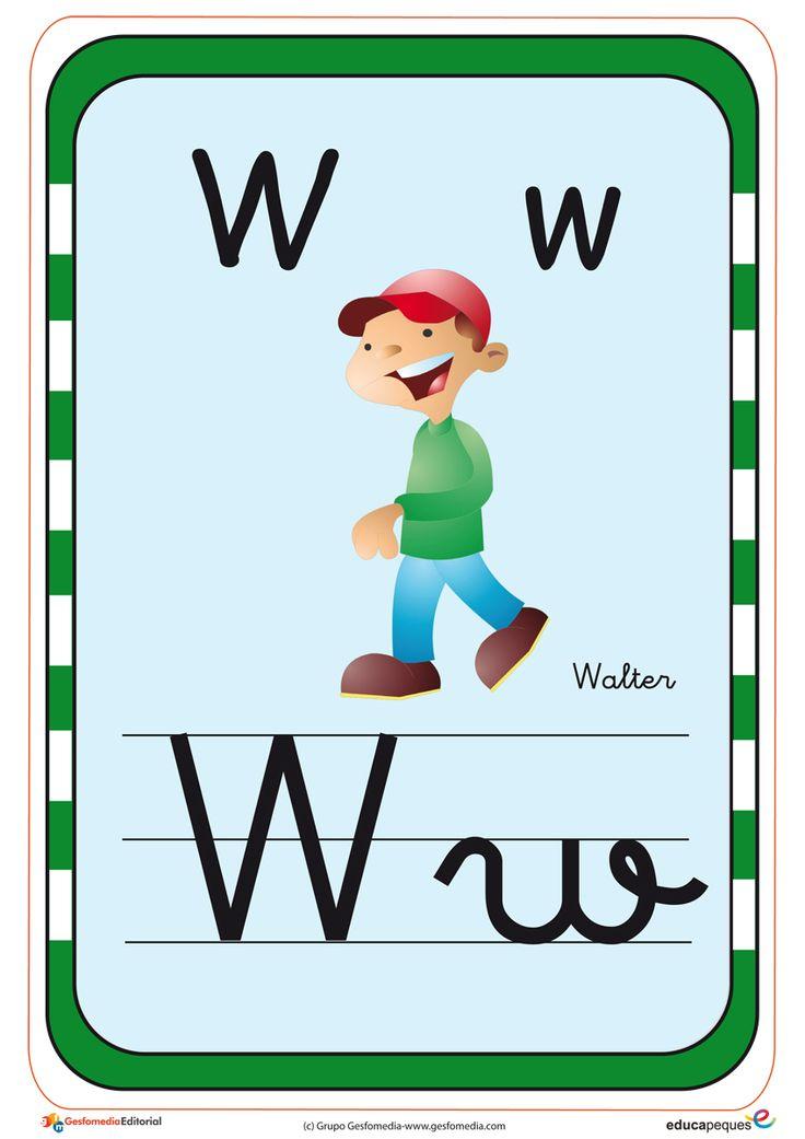 Fichas para repoasar el Abecedario Fichas infantiles del abecedario y el alfabeto gratis. Descargar fichas y láminas del abecedario y