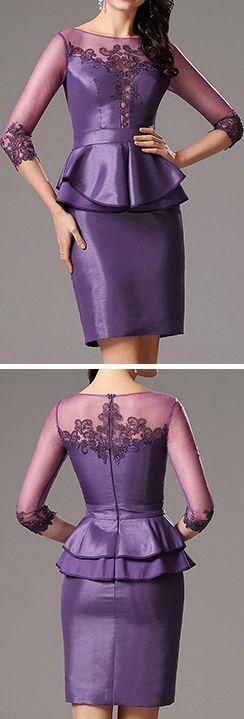 eDressit Robe de Cocktail Manche Longue Transparent Broderie #edressit #robe #nouveauté #soirée #bijoux #dentelle #broderie #printemps #remise #solde #femme #mode #branché #sexy #élégant #cadeau #rendez-vous #formel