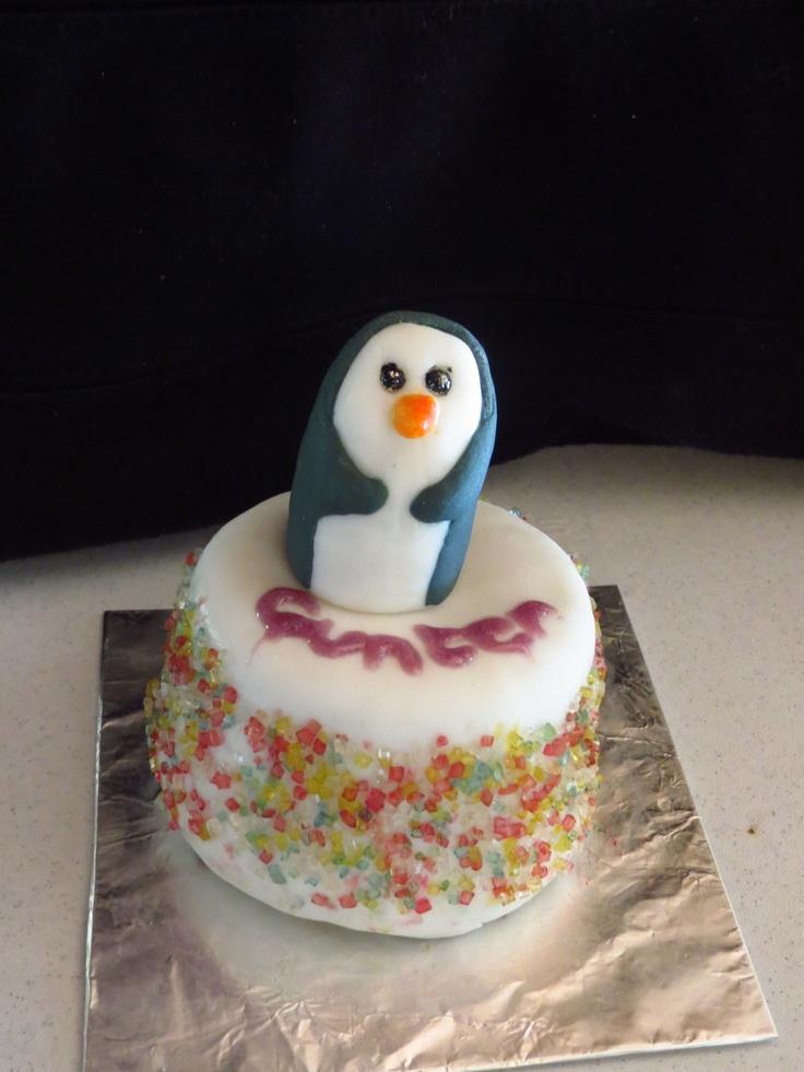 The Ice King's penguin, Gunter from Adventuretime