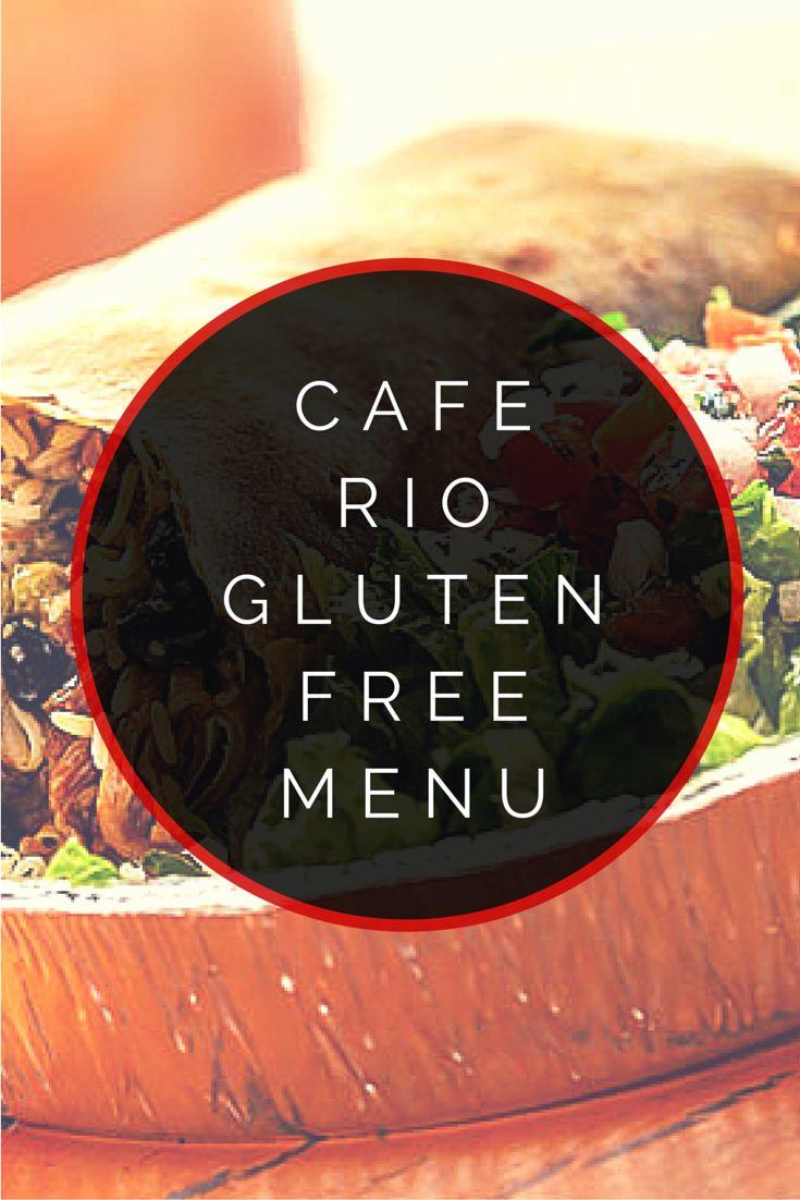 Cafe Rio Gluten Free Menu #glutenfree