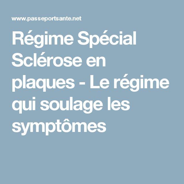 Régime Spécial Sclérose en plaques - Le régime qui soulage les symptômes