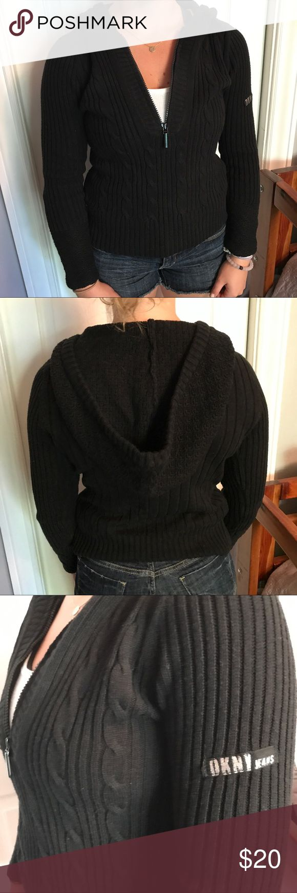 PETITE Sweater • DKNY Jeans Petite sweater! Make an offer! DKNY Sweaters