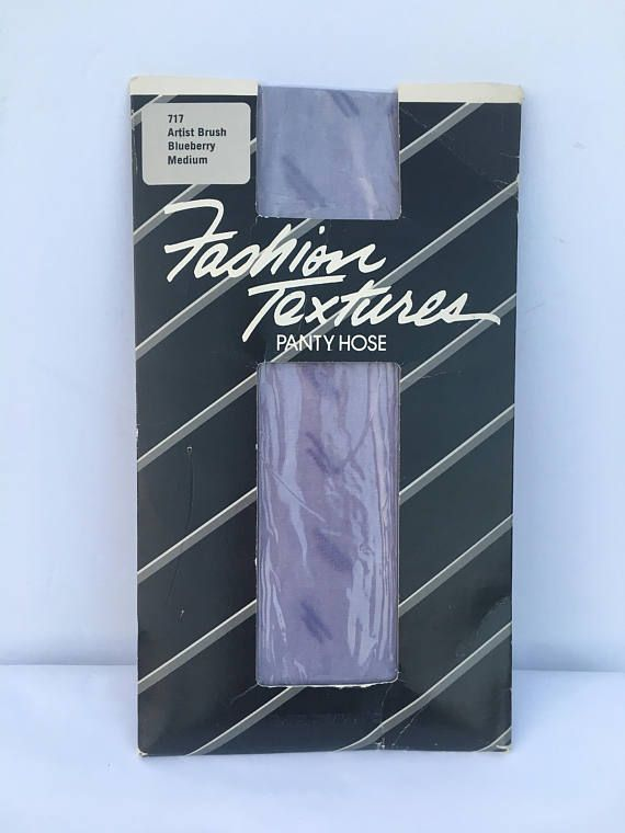 Oh the 80s were just too cool!!! I had just about every color pantyhose you could imagine, and particularly loved ones with designs. Colored and textured pantyhose is a great way to add a cool artistic flair to your outfit. You dont have to match, wearing with an opposite color on the