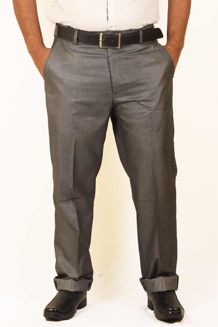 http://tinyurl.com/zmunbmn  Buy Online Comfortable DMARK Brown Polyester Cotton Trousers at GetAbhi.com