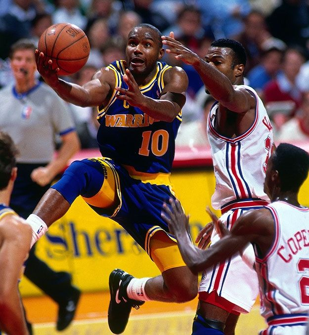 Tim Hardaway - Golden State Warriors (PG) this who I wanted to be!!!!!