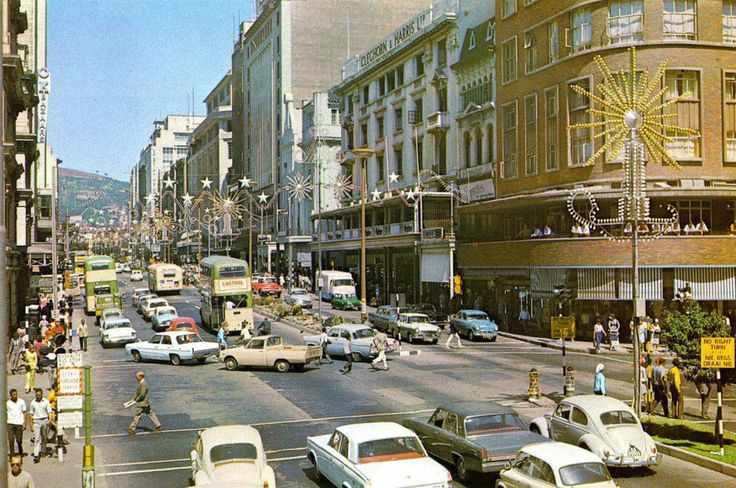 1950's Adderley Street, Cape Town.