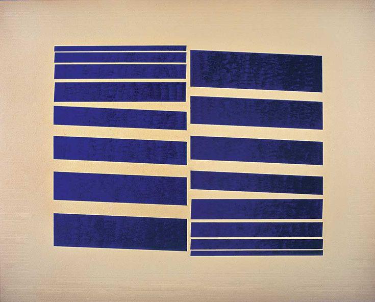 Hélio Oiticica. Metaesquema, 1957. Guache sobre cartão, 39 × 51 cm.