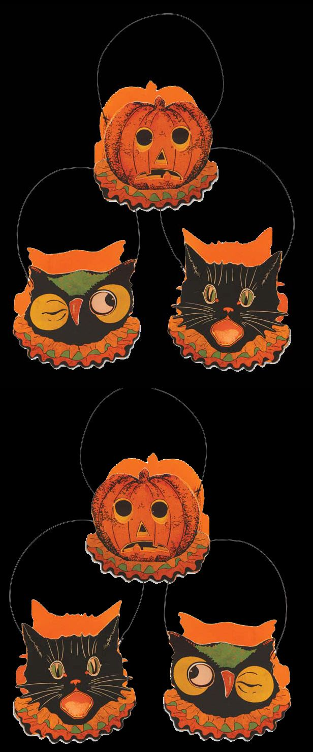 Bethany Lowe Sassy Cat   Friends Retro Halloween inspired Buckets  Vintage  Halloween Decorating   Retro. 313 best Vintage Halloween Decorating   Retro Theme Party Ideas