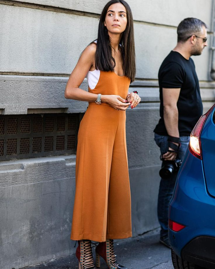 """1,421 Likes, 21 Comments - Sandra Semburg (@sandrasemburg) on Instagram: """"There's something about that warm Amber tone on Italian summer tan #Milan #streetstyle outside MSGM…"""""""