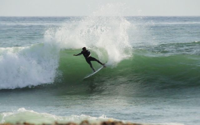 somEthing on my mind by michael lopez. Evan, Oliver, and Mitch surf some fun southern California mixed swell .. .