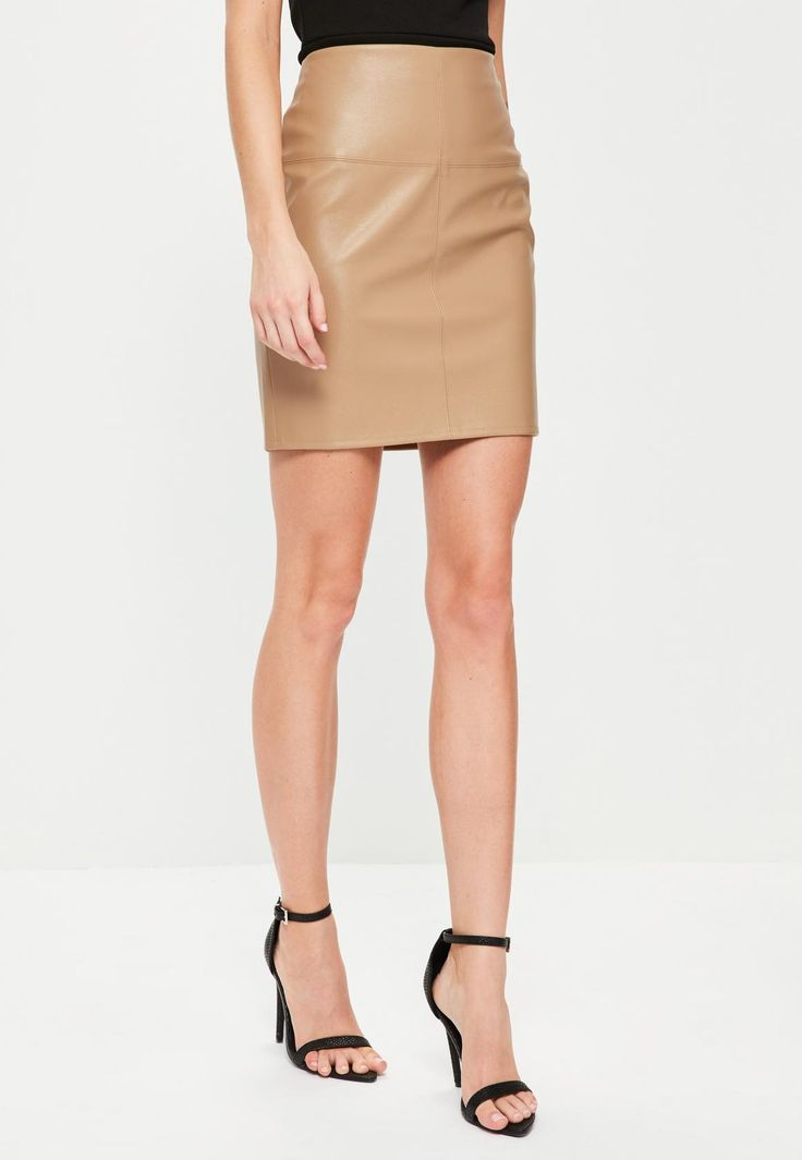 17 Best ideas about Tan Leather Skirt on Pinterest | Leather ...