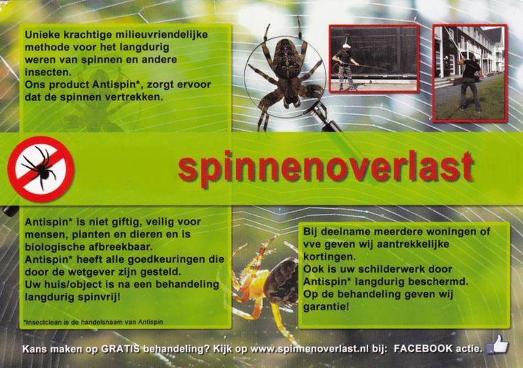 spinnen bestrijden - Google zoeken