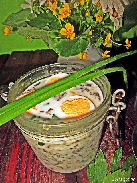 Gosia gotuje: Chłodnik szczawiowy