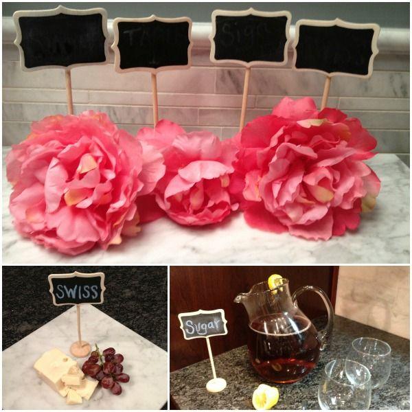 Pizarrones con base para eventos y bodas ideas for Ideas originales para decorar