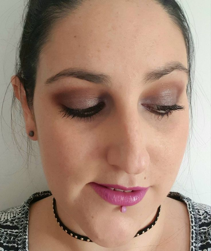 Recent #makeupoftheday using:  @LOrealmakeup Infallible Matte foundation  @Benefitcosmeticsuk #GimmeBrow  @Younique_corporate Noble Cream Shadow with @Glossyboxuk Glossy Mauve on top  @Primark Volumising Mascara  @Maccosmetics #UpTheAmp lipstick  Choker from @boohoo . . .  #bbloggers #beautybloggers #beautyblog #beauty #makeup #makeuplook #makeupaddict #MUOTD #motd #fotd #makeupofinstagram #pursuepretty #dailygram #instapic #instadaily #instagrammers #photooftheday #picoftheday #purplelips…