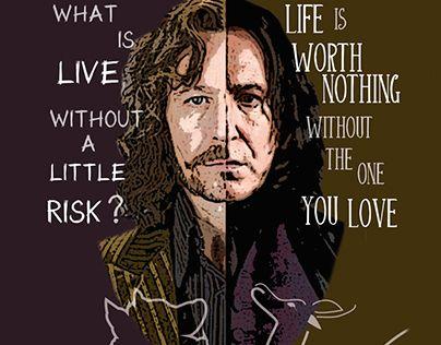 "Check out new work on my @Behance portfolio: ""Sirius & Snape"" http://be.net/gallery/61712609/Sirius-Snape"
