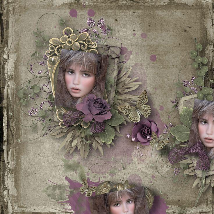 """Elegant Lady"" by Celinoa's Designs, http://digital-crea.fr/shop/index.php?main_page=product_info&cPath=155_332&products_id=23478, photo Pezibear, https://pixabay.com/cs/users/Pezibear-526143/"
